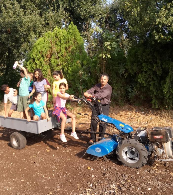שפע פעילויות בחווה החקלאית אקולוגית