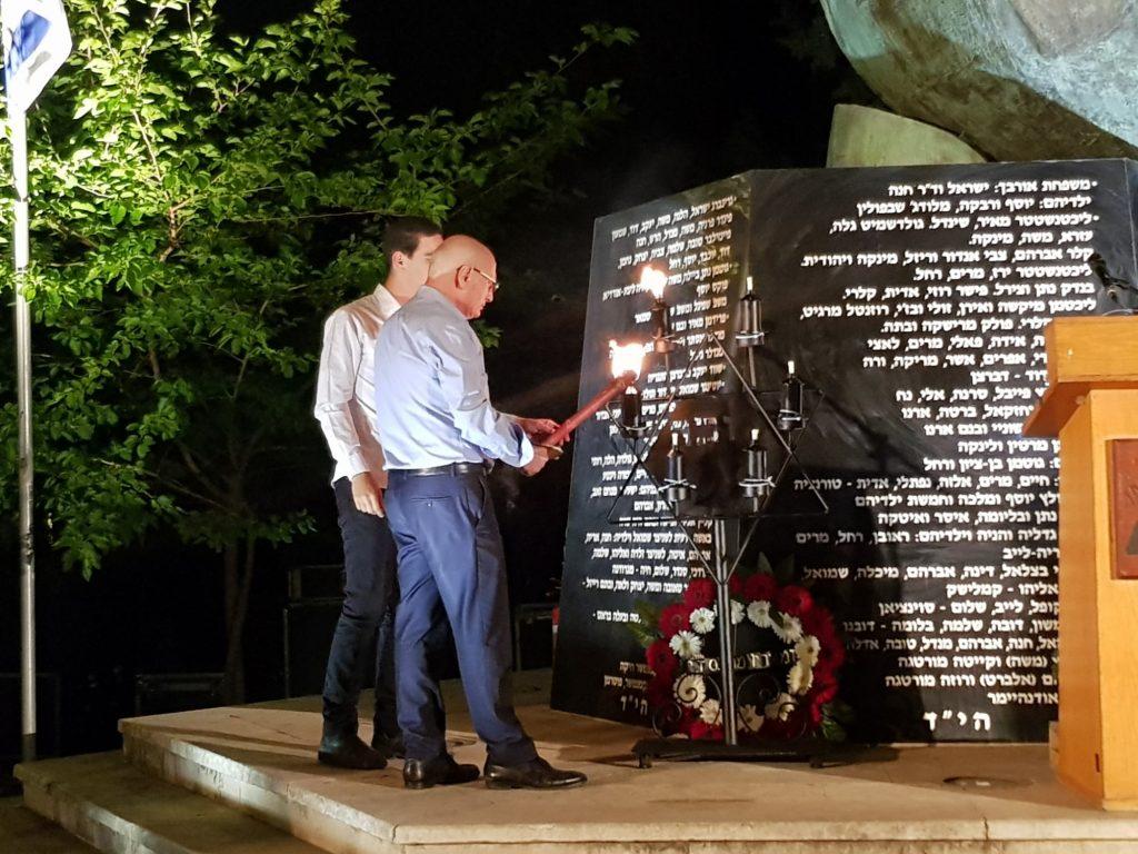 שבוע שעבר ציינה המושבה זכרון יעקב יחד עם כל מדינת ישראל את יום הזכרון לשואה ולגבורה.