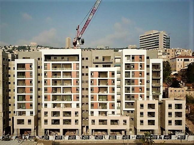 הבניה בפרויקט הרובע של חברת גולדן ארט מתקדמת לקראת האכלוס בקיץ