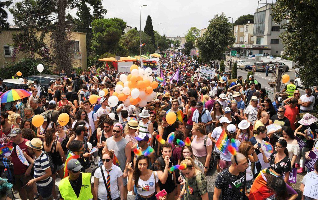 מצעד הגאווה בחיפה 2019