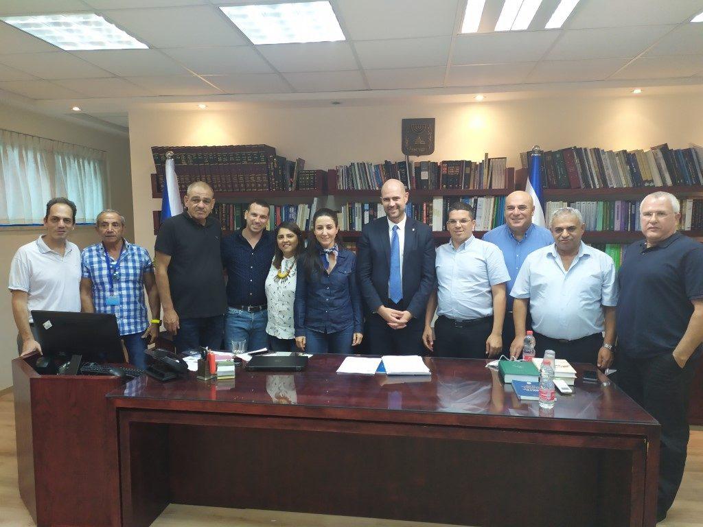 חברי הפורום המוניציפאלי בליכוד נפגשו עם שר המשפטים אמיר אוחנה