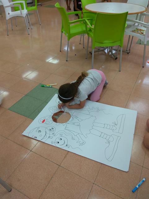 יום כיף לילדי העובדים בבית האבות הספרדי