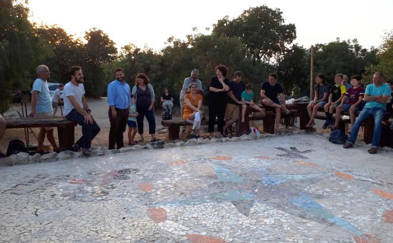 פעילות אקולוגית קהילתית בגבעת המייסדים