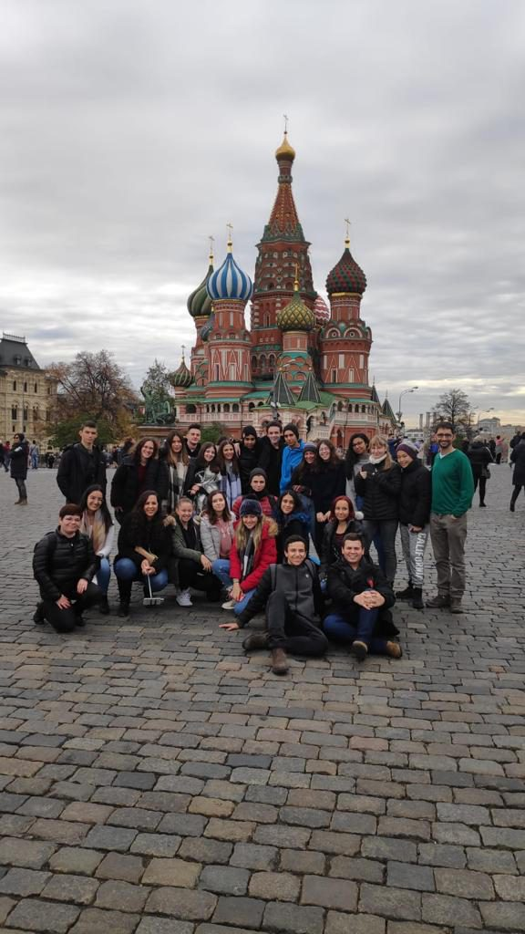 """תלמידי תיכון """"חוגים"""" יצאו למשלחת חקר החלל במוסקבה"""