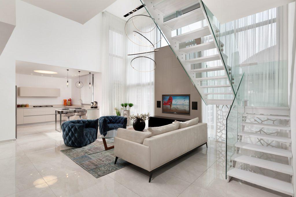 פרוייקט טורקיז של יוסי אברהמי מבט לסלון עיצוב רחל יעיש