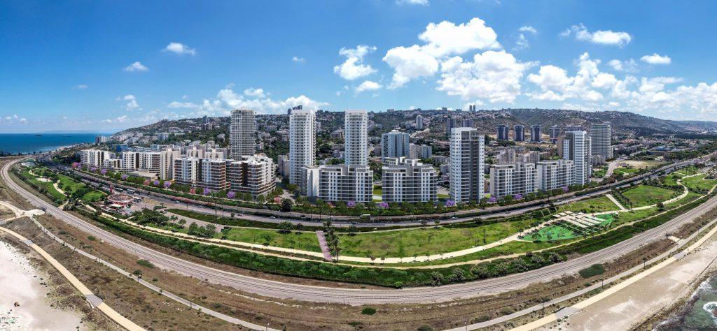 פרויקט התחדשות עירונית של חברת יוסי אברהמי ונקסט אורבן בחיפה
