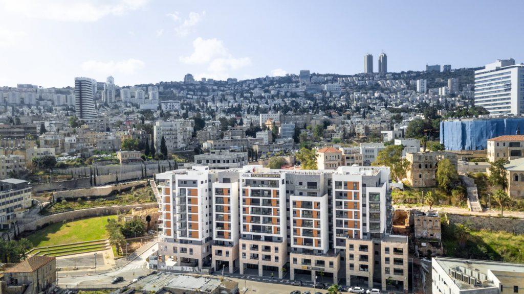 הסגר יותר נוח: גולדן ארט משיקה את דירות הגג והגן בפרויקט הרובע בחיפה