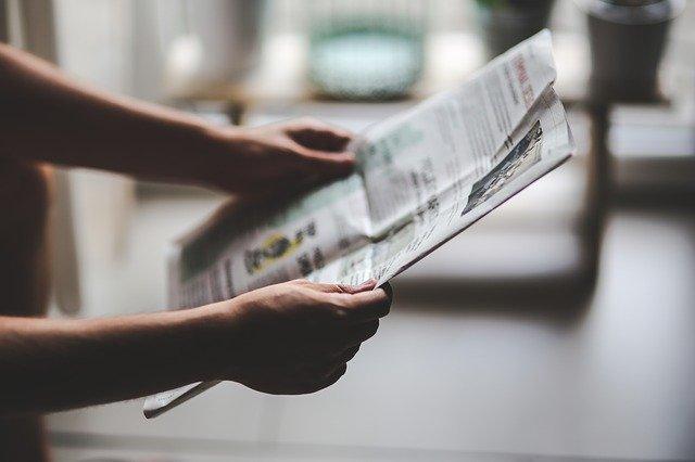 פרסום בעיתון מעריב בזמן משבר כלכלי